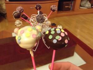 Decoración con Candy Melts de cake pops